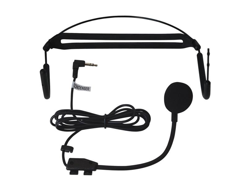 Mikrofón SHOW HM-28L náhlavný kondenzátorový