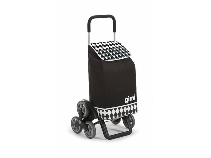 Vozík nákupný GIMI TRIS OPTICAL BLACK 56L 154315