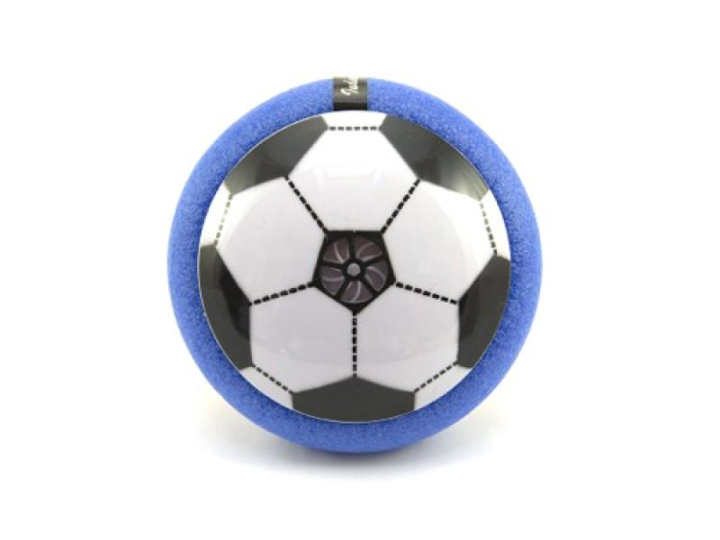 Detský futbalová lopta TEDDIES AIR DISK vznášajúce sa 14 cm