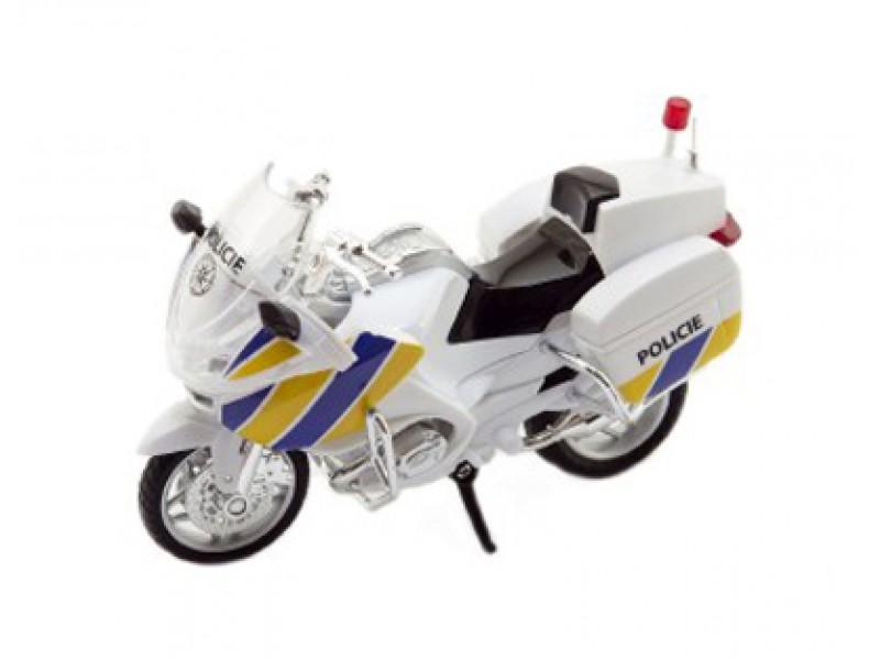 Detská policajná motorka TEDDIES 12 cm