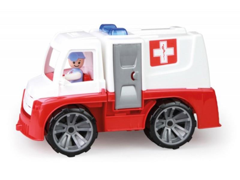 Detská sanitka TEDDIES TRUXX 29 cm