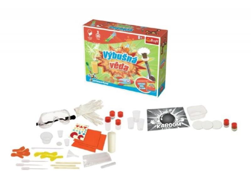 Detská kreatívna hra TREFL výbušná veda