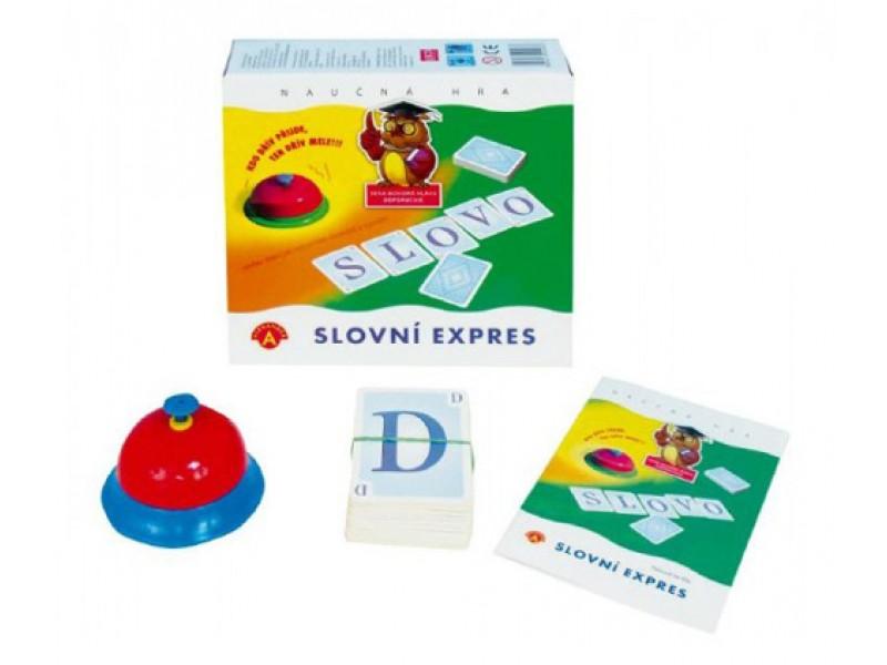 Hra vzdelávacie PEXI Slovné expres