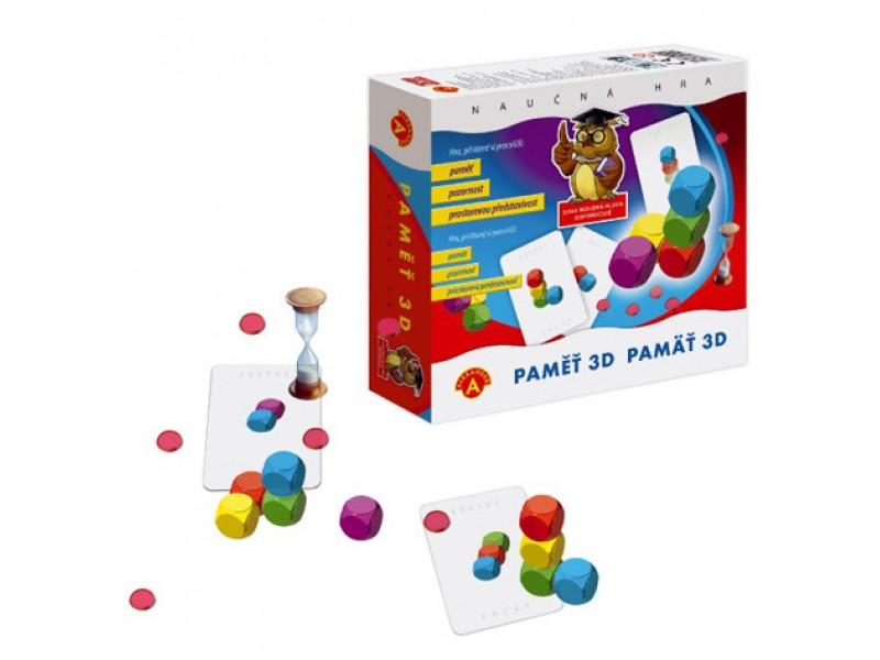 Hra vzdelávacie PEXI Pamäť 3D