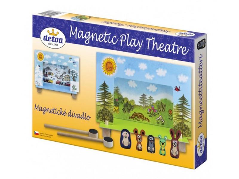 Divadlo DETOA Krtko magnetické drevené