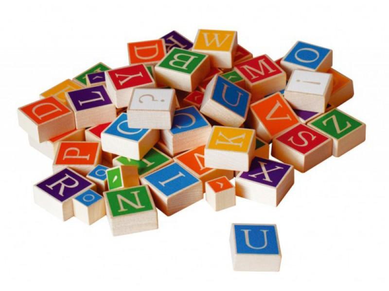 Detská abeceda DETOA drevená