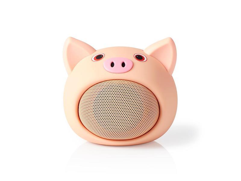 Reproduktor Bluetooth NEDIS SPBT4110NC PINKY PIG