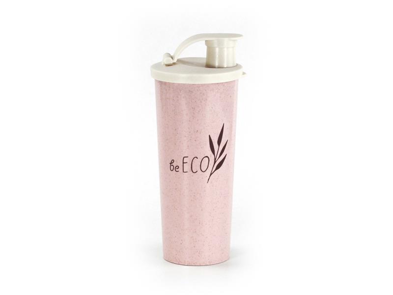 Šejker G21 beECO Fitness 450ml ružový
