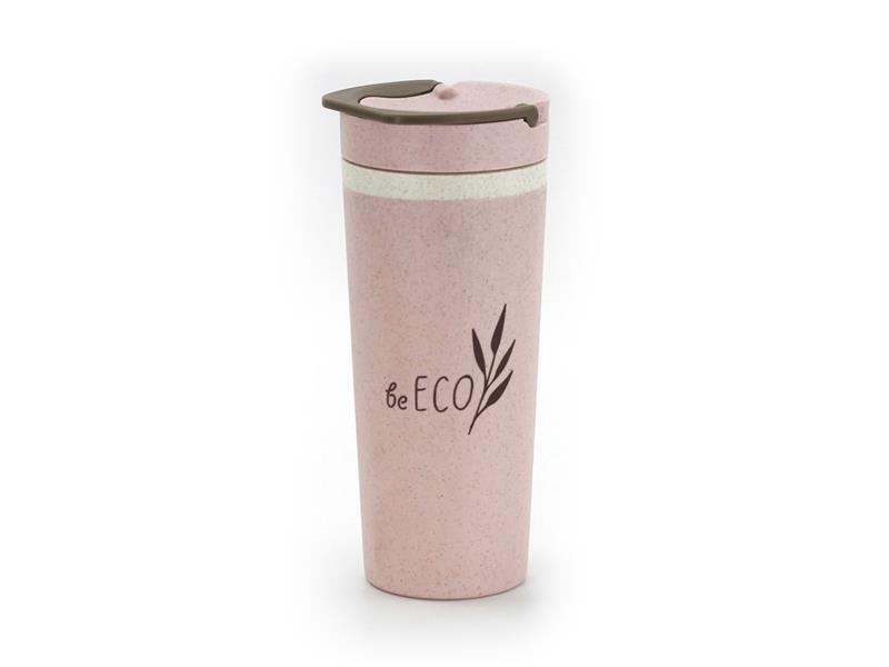 Termohrnček G21 beECO Americano 450ml ružový
