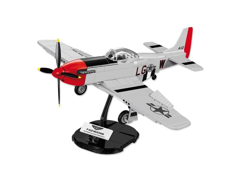Stavebnica COBI 5806 TOP GUN P-51 Mustang, 1:35, 265 k, 1 f