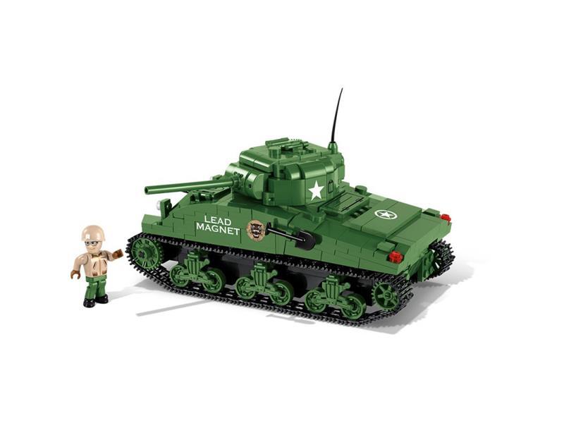 Stavebnica COBI 3007A WOT M4 Sherman, 500 k, 1 f