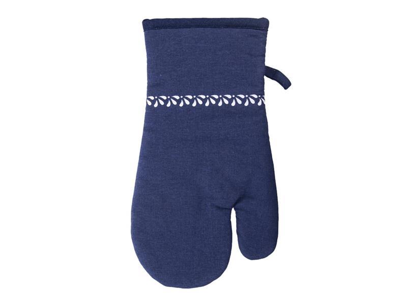 Chňapka ORION modrotisk bavlna