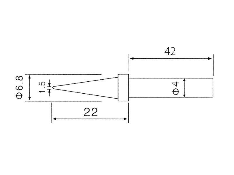 Hrot C1-1 (ZD-30C,ZD-99,ZD-8906,ZD-8906L)