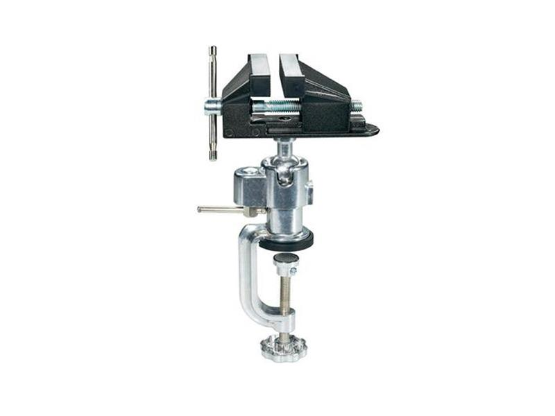 Zverák kovový s guľovým kĺbom BASETECH 815880