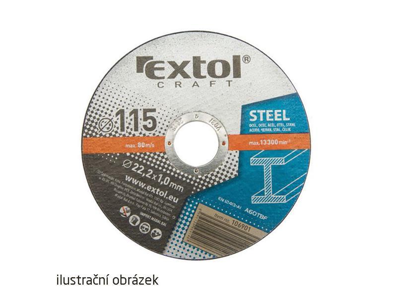 Sada kotúčov 5ks EXTOL CRAFT 106902 125mm