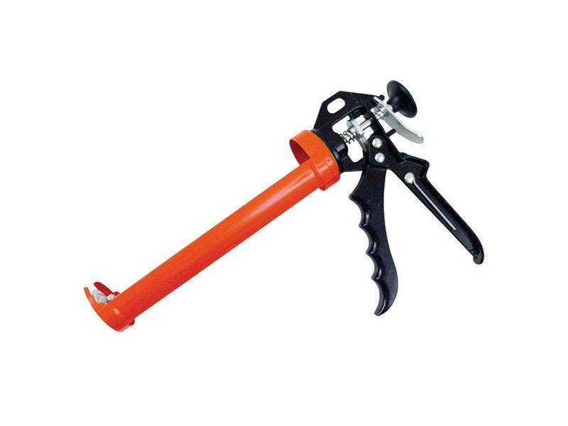 Pištoľ na tmel poloskeletová kovová, 225mm, EXTOL PREMIUM 8845100