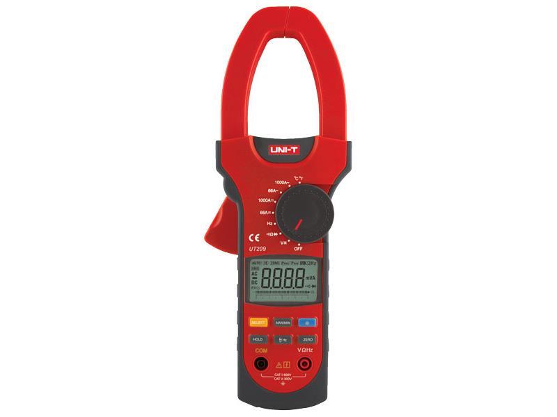 Multimeter UNI-T UT209 kliešťový
