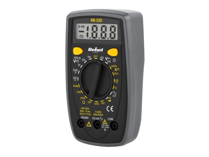 Multimeter REBEL RB-33D