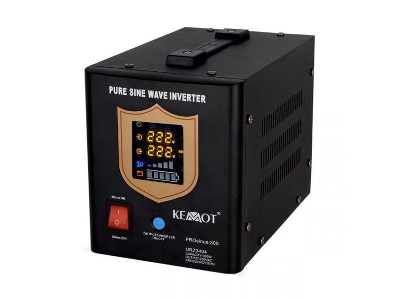 Zdroj záložný KEMOT PROsinus 300W 12V