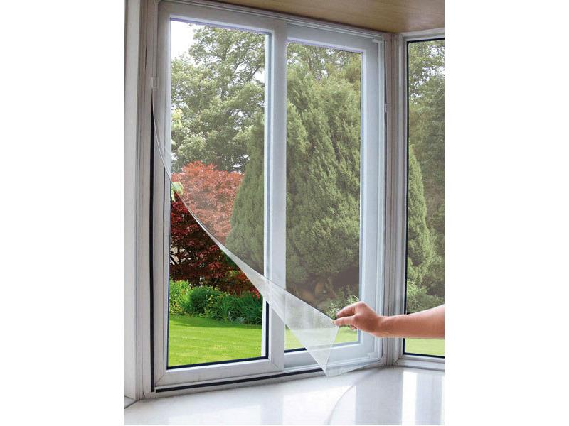 Sieť okenná proti hmyzu, 130x150cm, biela EXTOL CRAFT