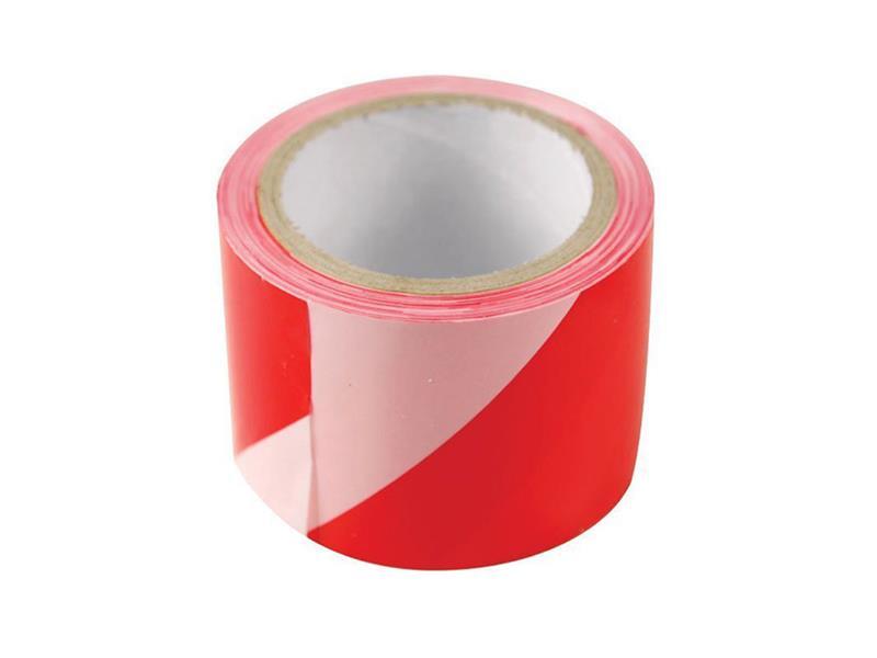 Páska výstražná červeno-biela 75mm x 100m EXTOL CRAFT 9565
