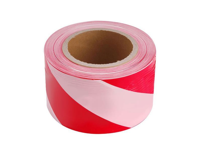 Páska výstražná červeno-biela 75mm x 250m EXTOL CRAFT 9566