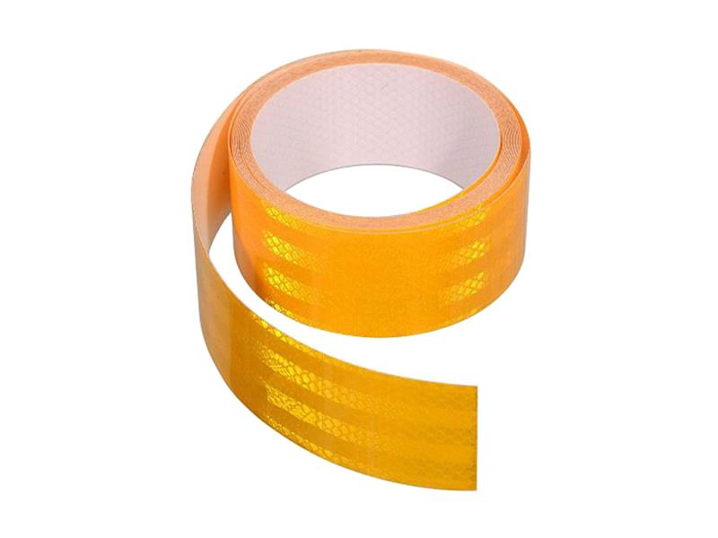 Reflexná páska samolepiaca 5m x 5cm žlutá COMPASS 01541