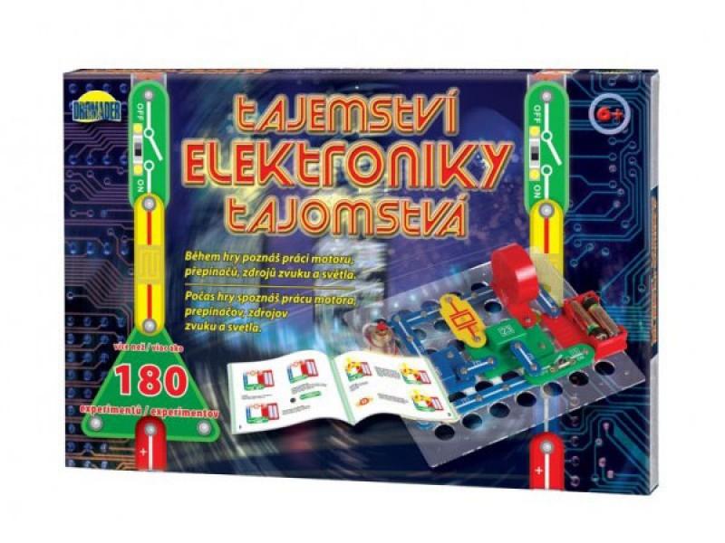 Elektronická stavebnica DROMADER Tajomstvo elektroniky 180 experimentov