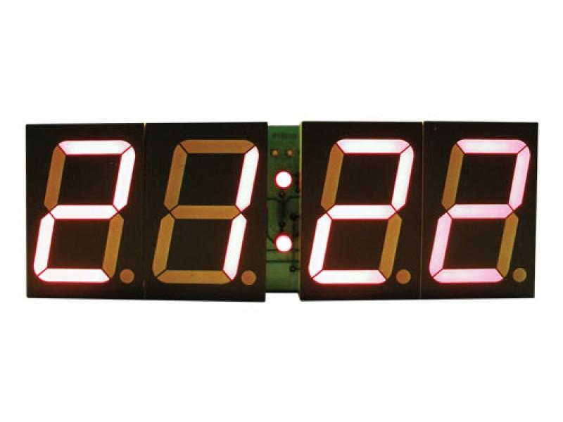Stavebnica PT011B CMOS digitálne hodiny s 45mm červenými displejmi