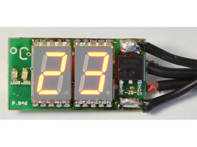 Stavebnica PT046 Miniatúrny digitálny SMD tepolmer