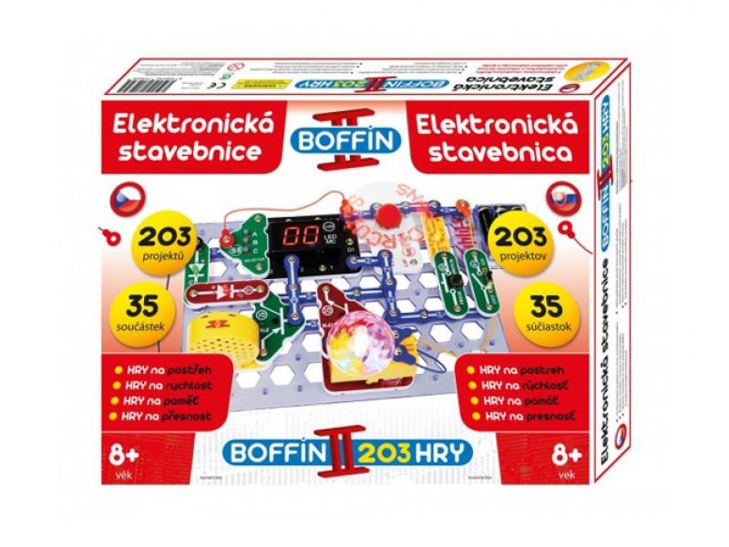 Stavebnica elektronická BOFFIN II 203 HRY
