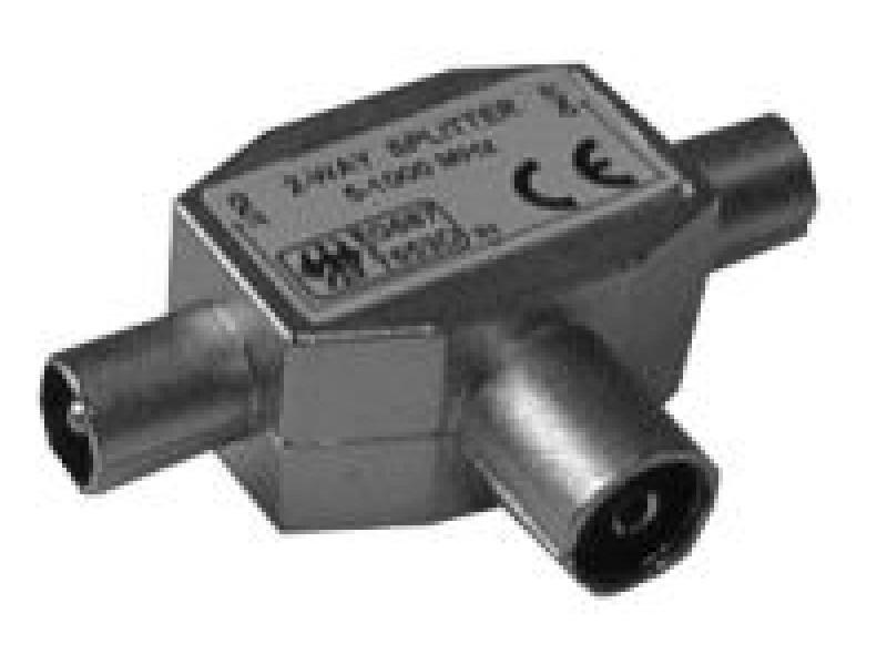 Antenný rozbočovač kovový