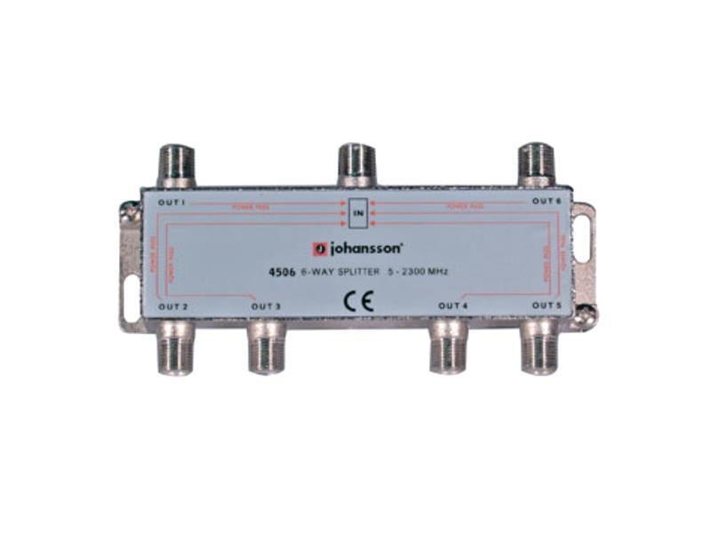 Antenný rozbočovač 6-výstupy 4506 - Johansson