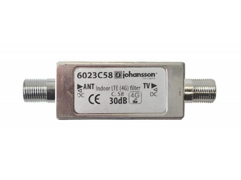 Antenný filtr LTE Johansson 6023C58 - LTE/4G filter