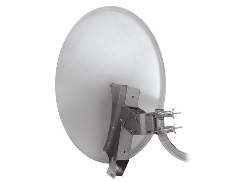 Satelitný parabola 85AL Emme Esse profi se systémem Clarkalign biela