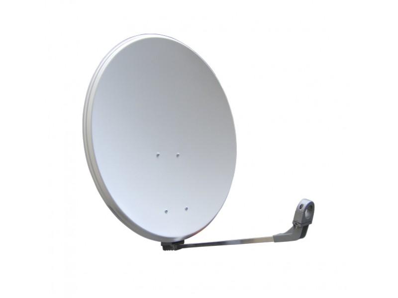 Satelitný parabola 80FE Emme Esse biela s plastovými zády