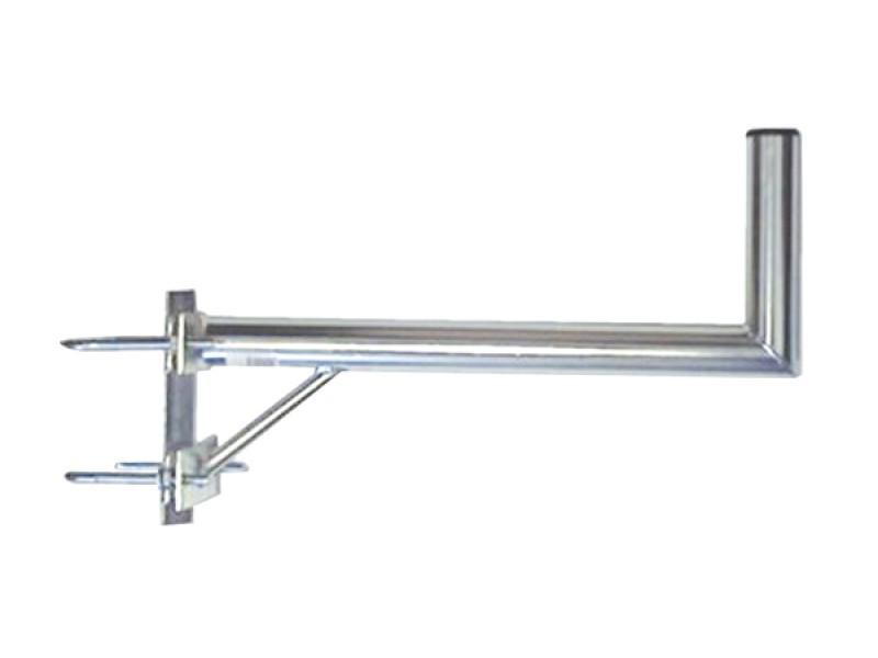 Anténny držiak 70 na stožiar s vinklom a vzperou priemer 42mm výška 16cm